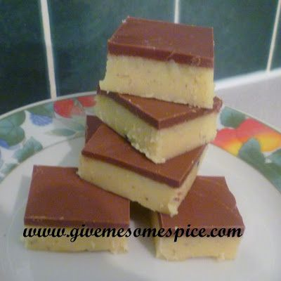 Authentic Vegetarian Recipes | Indian Traditional Food | Step-by-step Instructions: Chocolate Barfi - An Indian Sweet
