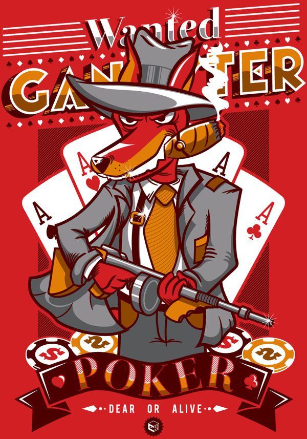 Gangster by 24B, via Behance