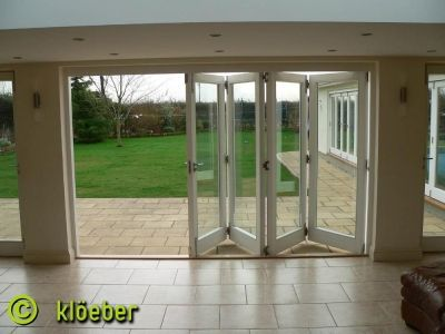 Timber Bi Fold Doors Kloeber Kustomfold Garage Doors