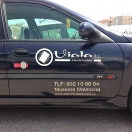Rotulación puertas de coche o furgoneta