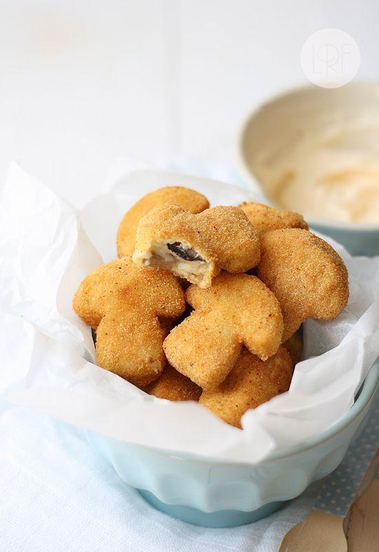 Croquetas de Setas Spanish Mushroom Croquettes