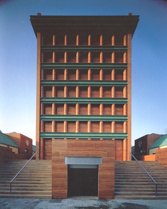 Hotel Il Palazzo, Fukuoka, Japan. Aldo Rossi.