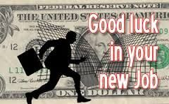Wish you good luck for your new job. Keep progressing in field study and earn as much as you can. Congratulations! - http://www.goodluckmessages.net