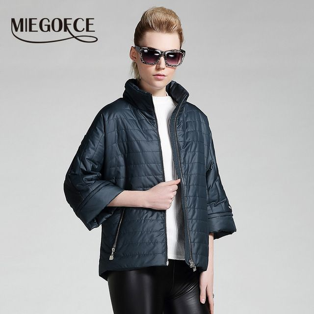 MIEGOFCE 2016 new Women's Clothing spring short jacket women fashion coat padded cotton jacket outwear High Quality Warm parka US $55.00 /piece Specifics Gender	Women Outerwear Type	Down & Parkas Clothing Length	Short Brand Name	MIEGOFCE Filling	Polyester Wadding Closure Type	Zipper Fabric Type	Woven Hooded	No Down Content	90% Sleeve Length	Three Quarter Decoration	Zippers Pattern Type	Solid Type	Regular Material	Polyester   Click to Buy :http://goo.gl/t9O329