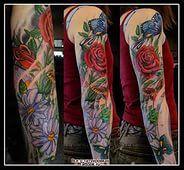татуировка рукав цветы: 27 тыс изображений найдено в Яндекс.Картинках