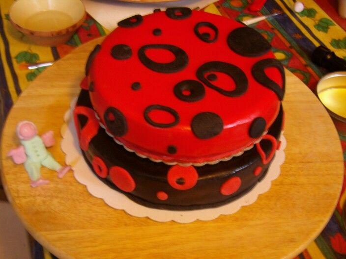 Red&Black cake