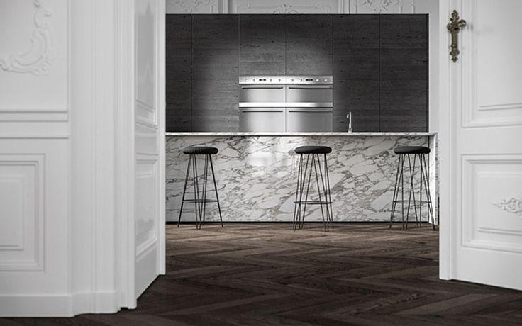 Exclusivo y tradicional apartamento parisino al estilo Haussmann remodelado