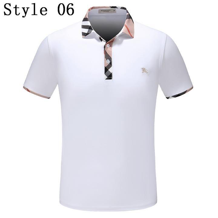 Designer Polos – Boss Styles Co   Polo, Burberry men, Mens tops