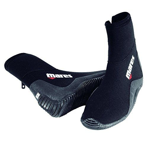 Mares Rubber Sole Classic 5mm Dive Boot, Mens 12/Womens 13