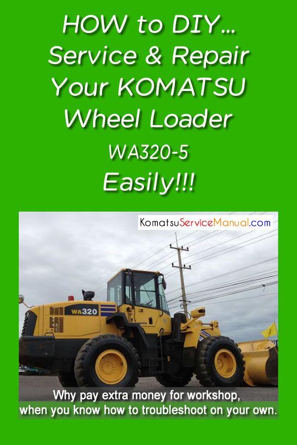 Pin On Komatsu Wheel Loader Service Manual Pdf