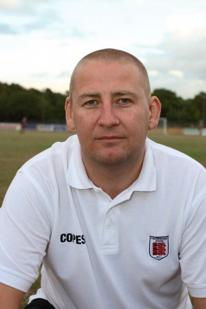 Manager at the might Faversham Town