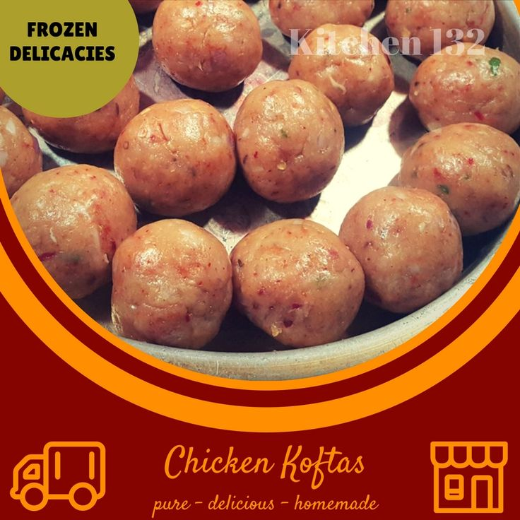 Chicken Koftas~