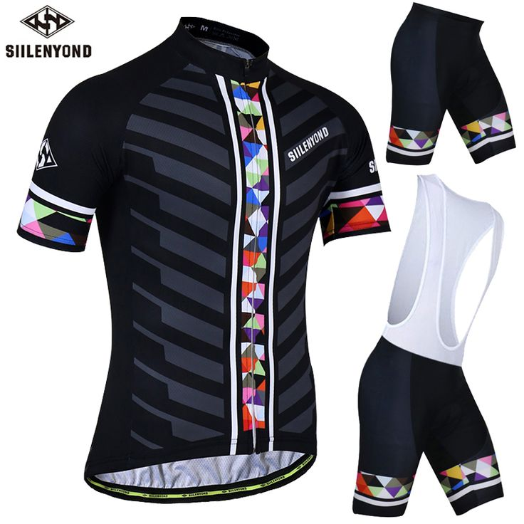 ==> [Free Shipping] Buy Best SIILENYOND Mischa Summer Quick-Dry Cycling Jersey Maillot Ropa Ciclismo Racing Bicycle Clothing Mans MTB Bike Clothes Set Online with LOWEST Price | 32808253974