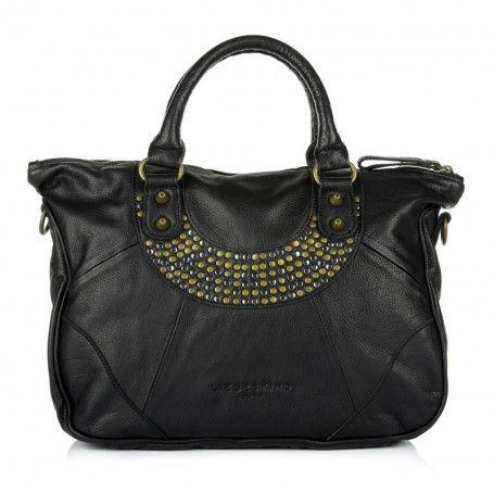 Liebeskind Tasche – Esther O Vintage Black – in schwarz – Henkeltasche für Damen