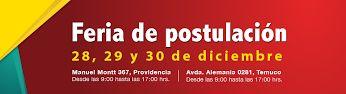 ¿Quieres estudiar en la UMayor? La feria de postulación estará abierta el 28, 29 y 30 de Diciembre. No faltes! #umayor   #universidad   #estudiantes   #admisión2014