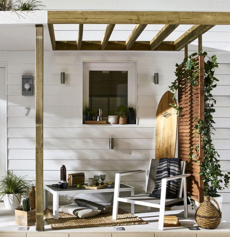 Une Terrasse Cosy Et Chaleureuse