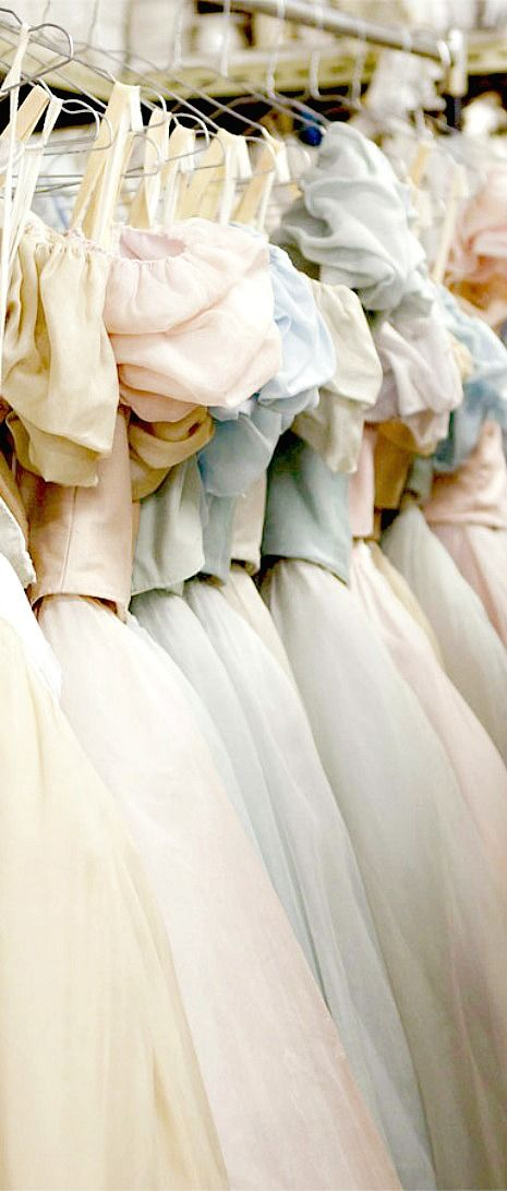 Pastel ballet costumes. Inside the wardrobe: Onegin | Behind Ballet. great accessories & style inspirations at Monica Hahn Photography