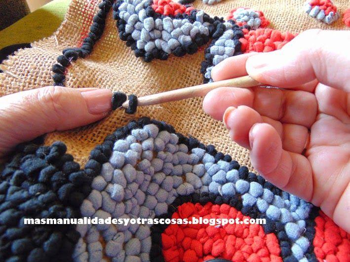 bordados sobre arpillera - Buscar con Google