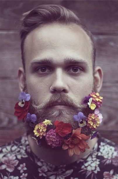 Flower beard.