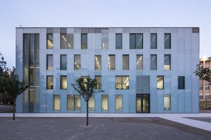 Dietmar Feichtinger Architects - Université de Provence in Aix-en-Provence Entension, Aix-en-Provence, France (2013) #educational