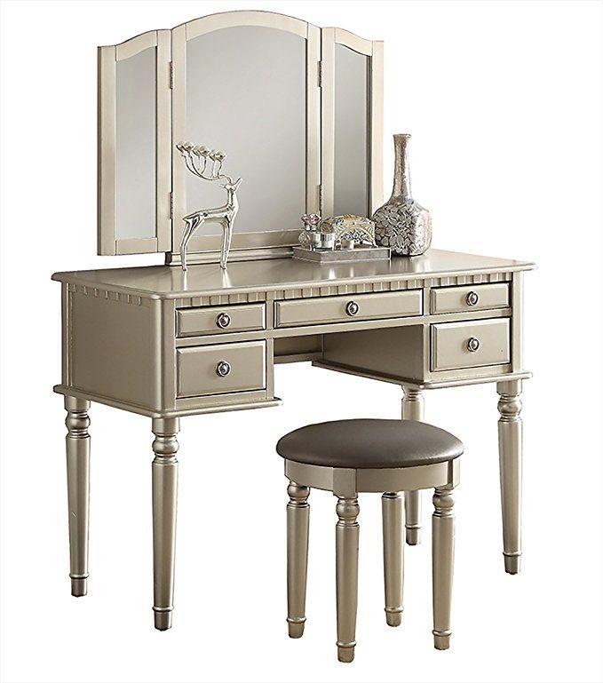 Best Amazon Com Bobkona F4060 Croix Collection Vanity Set With 400 x 300
