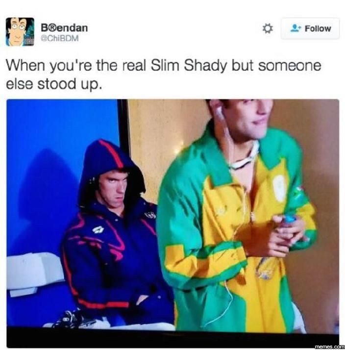 When you're the real slim shady... #Funny #Memespic.twitter.com/yRHax9oH8V http://ibeebz.com