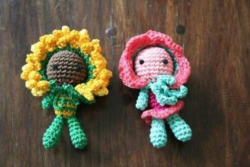 Original Crochet Amigurumi Flowers : 885 Best images about haken dieren on Pinterest Free ...
