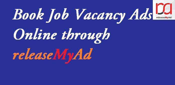 Now book your Job advertisements in Times of India online with releaseMyAd without extra cost. Visit:- http://blog.releasemyad.com/2009/09/book-times-of-india-newspaper-classified-recruitment-advts-releasemyad/