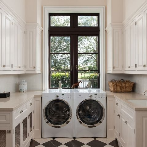 #LGLimitlessDesign, #Contest      With LG blqck stainless steel washer/dryer and black soapstine counter top!