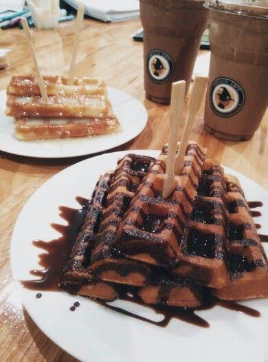 Waffle choco