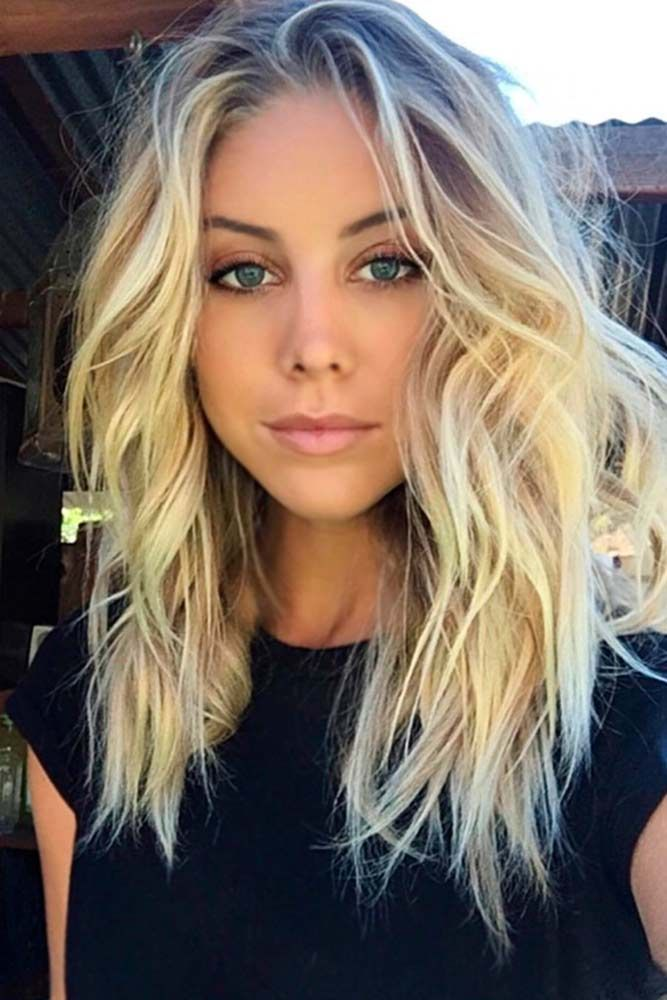 medium length blonde ideas