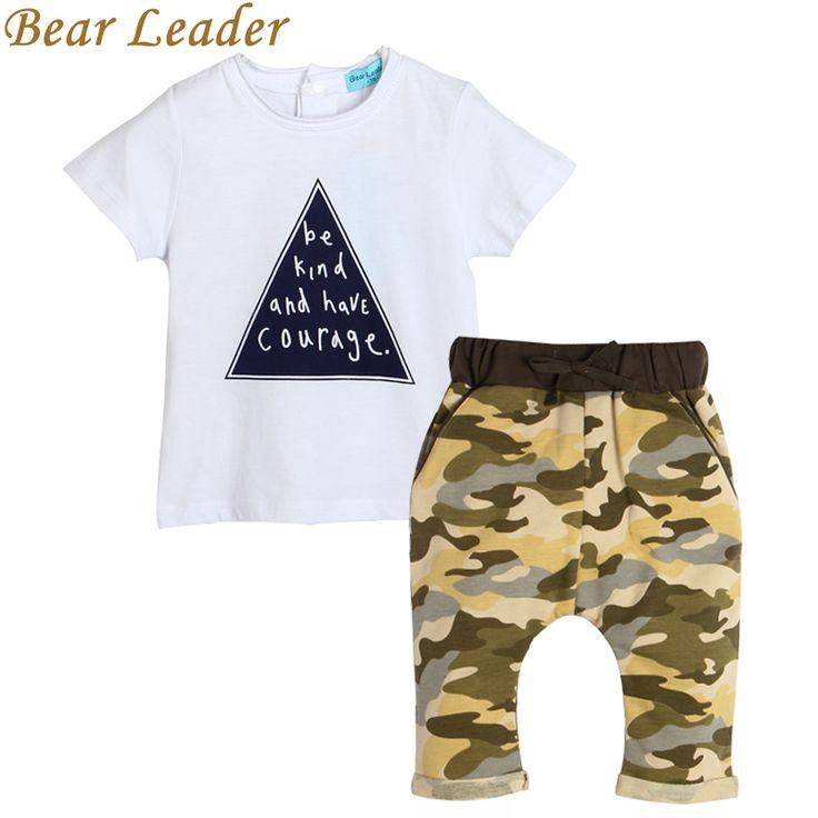 Summer Cotton Baby Boy 2pcs Short Sleeve Set