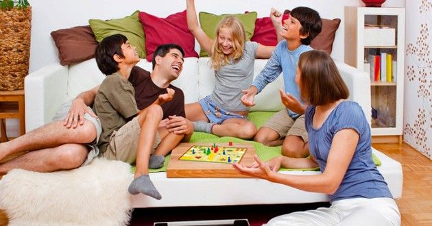 Dice, cards, and dominoes: How to institute family game night