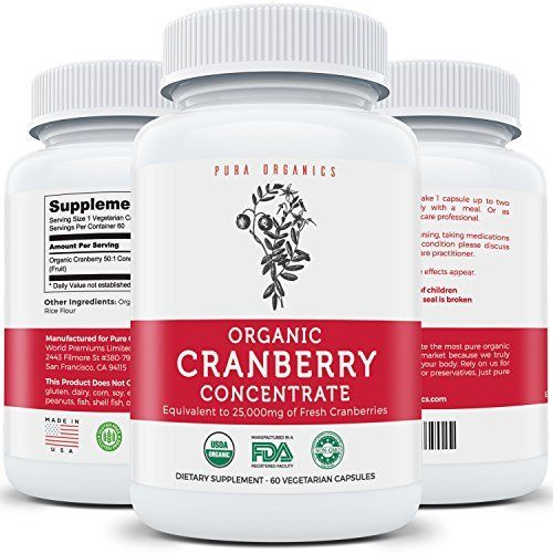Like and Share if you want this  USDA Organic Cranberry Concentrate - Equivalent to 25,000mg of Fresh Cranberries for Powerful Kidney Cleanse & Urinary Tract Health Support - Fruit Extract Supplement - 60 Veggie Capsules - No Pills     Tag a friend who wo http://www.shavethepounds.com/natural-appetite-suppressants/