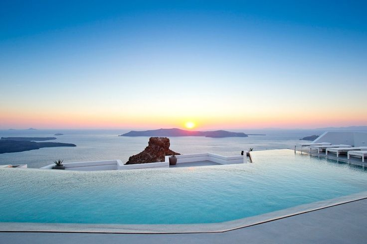 The Best Hotel Pools In The World- Grace Hotel Santorini
