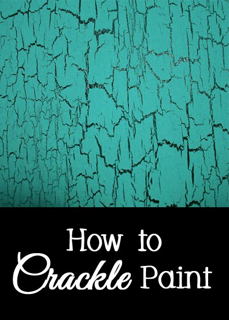 Crackle paint is a fun decorative finish that does not require any expensive specialty paint, although there are many companies that…