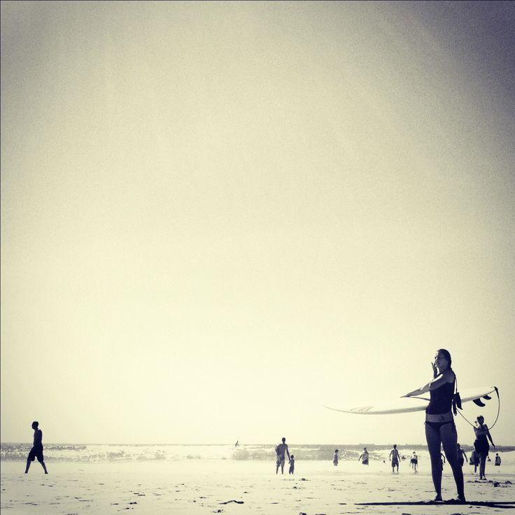 { SUNNY BEACH } Richards Bay, South Africa.  Camera: iPhone 4, 5-megapixel iSight camera.  Mobile Editing: Photoshop Express, Pixlromatic.