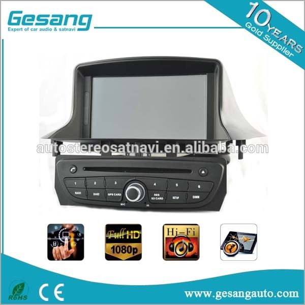 Touch screen car stereo for Renault Megane III 3 dvd player with GPS TV radio bluetooth 100%