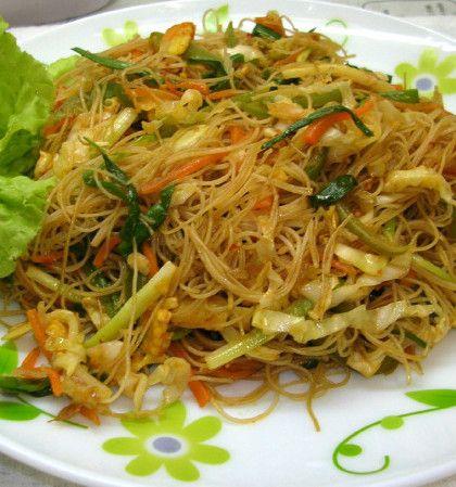 Fideos y Pasta con Vegetales - Vegetable Pasta