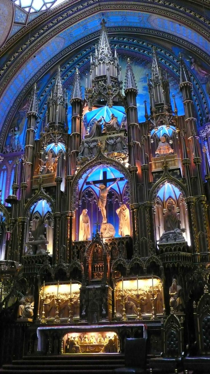 34 best notre dame cathedral montreal canada images on - Heure canada quebec ...