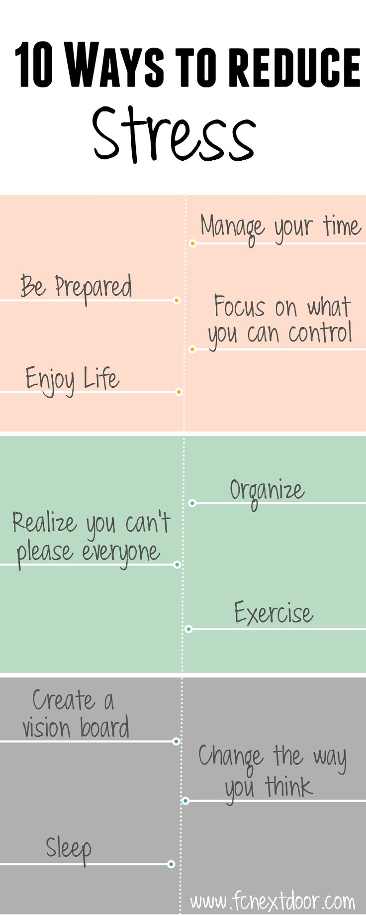 Fit Chick's 10 Ways to Reduce Stress