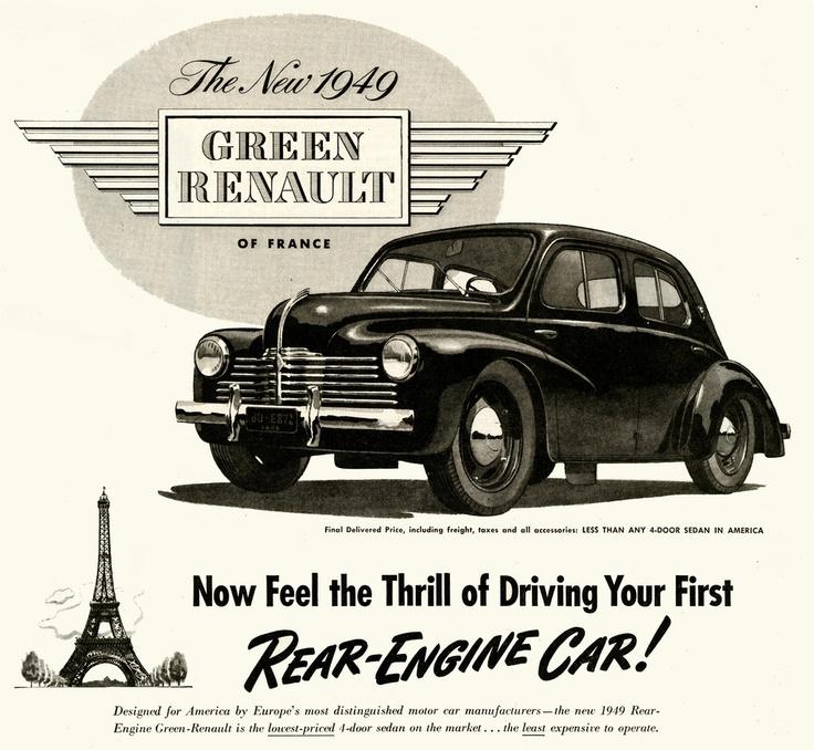 Best Renault Ads Images On Pinterest Vintage Cars Car And