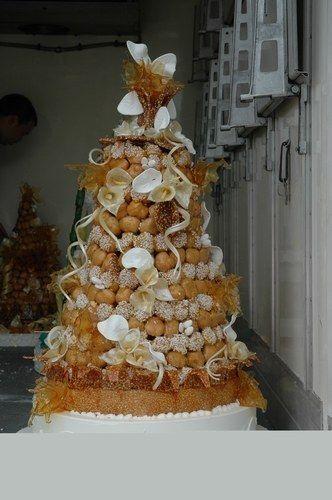 Mariage à Marguerittes, sur le thème de la marguerite - Idée de pièce montée