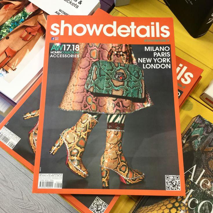 A magazine for professionals: Showdetails Accessories.  Shoes, bags, fashion jewellery and stylish details are often distinctive accents of trendy fashion design.