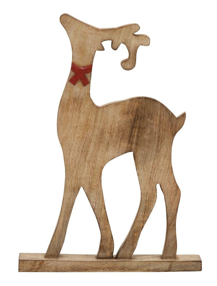 Proud Wood Reindeer