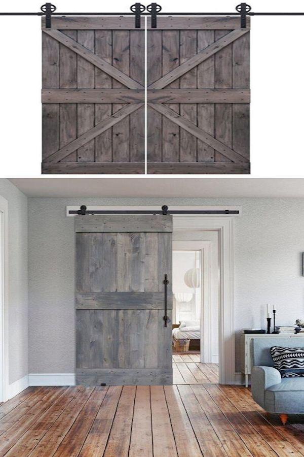 Old Barn Doors For Sale Closet Barn Door Hardware Interior Hanging Sliding Barn Doors In 2020 With Images Barn Door Tall Cabinet Storage Doors