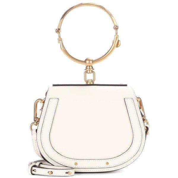 66d8335479e Chloé Small Nile Leather Bracelet Crossbody Bag (2