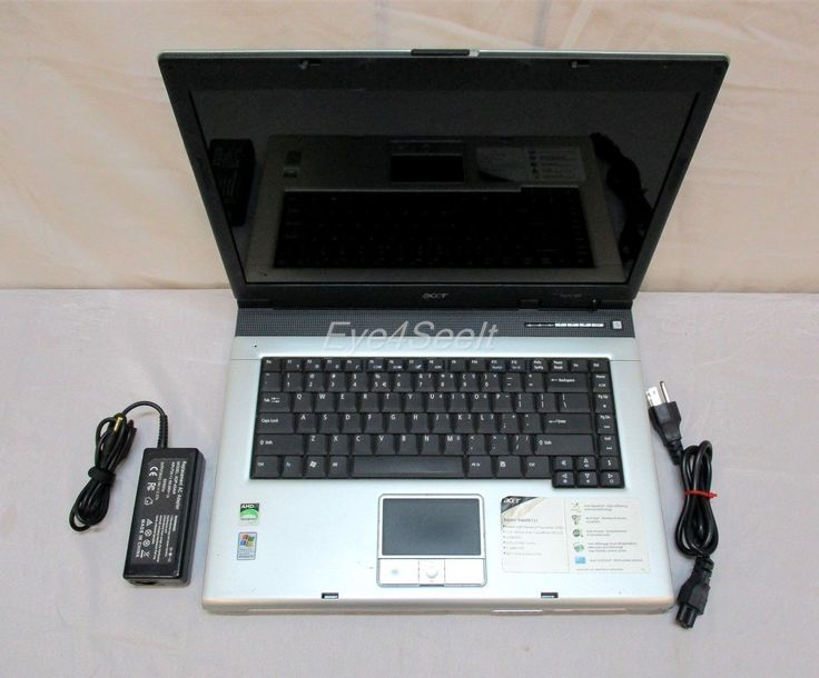 "Acer  Aspire 3000  Windows XP  Silver  15"" Laptop  AS-IS / FOR PARTS!"