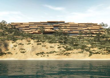Stone Terrace Hotel by ENOTA in Pag Island, Croatia