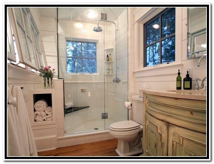 Window In Shower Recess
